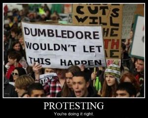 DumbledoreProtest